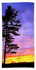 Maudslay Sunset Beach Towel