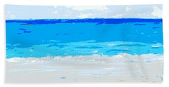 Maui No Ka Oi Beach Towel by Fred Wilson
