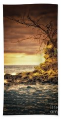 Maui Ocean Point Beach Towel