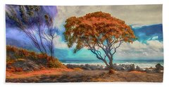 Maui Trees ... Beach Towel