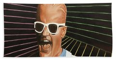 Max Headroom Beach Sheet