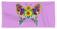 May Butterfly Beach Sheet