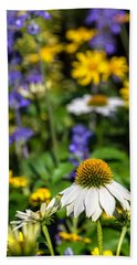 Beach Towel featuring the photograph May Flowers by Steven Sparks