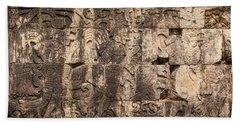 Mayan Hieroglyphics Beach Sheet