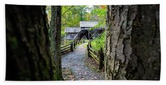 Maybry Mill Through The Trees Beach Towel