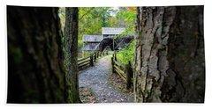 Maybry Mill Through The Trees Beach Sheet