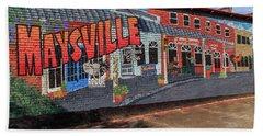 Maysville Mural Beach Sheet