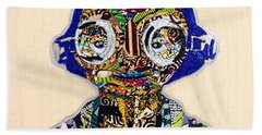 Maz Kanata Star Wars Awakens Afrofuturist Colection Beach Towel
