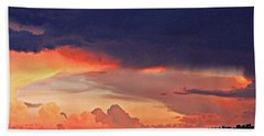 Mazatzal Peak Sunset Beach Towel
