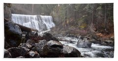 Mccloud Middle Fall Beach Towel