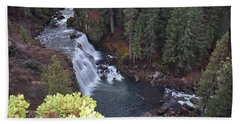Mccloud River Falls Beach Towel