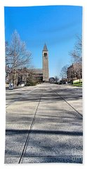 Mcgraw Tower  Beach Towel