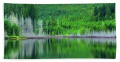 Mcguire Reservoir P Beach Towel