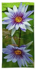 Mckee Waterlily II Beach Towel