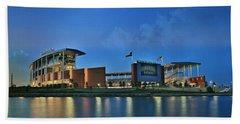 Mclane Stadium -- Baylor University Beach Towel