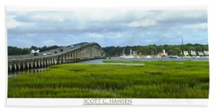 Mcteer Bridge Beach Towel