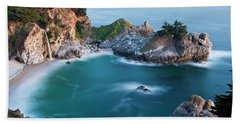 Beach Towel featuring the photograph Mcway Bay by Dan McGeorge
