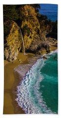 Mcway Cove Beach Beach Towel