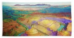 Meander Canyon Beach Towel