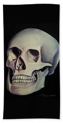 Medical Skull  Beach Towel