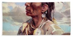 Medicine Crow Beach Towel