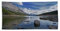 Medicine Lake, Jasper Beach Towel