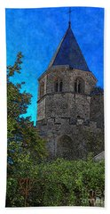 Medieval Bell Tower 1 Beach Towel