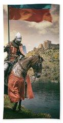 Medieval Knight 3 Beach Towel