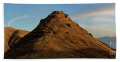 Medieval Proshaberd Fortress On The Top Of The Hill, Armenia Beach Sheet by Gurgen Bakhshetsyan