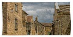 Medieval Village In France Beach Towel