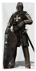 Medieval Warrior - 06 Beach Towel