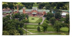 Beach Towel featuring the photograph Medinah Country Club by Adam Romanowicz
