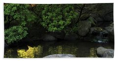 Meditation Pond Beach Towel