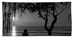Meditative State Beach Sheet