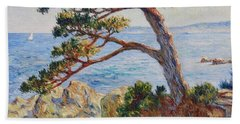 Mediterranean Sea Beach Towel