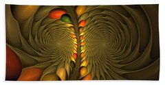 Meditirina Seed Pod Beach Towel