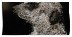 Meerkat Profile Beach Towel