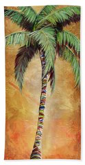 Mellow Palm II Beach Towel
