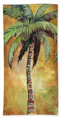 Mellow Palm IIi Beach Sheet by Kristen Abrahamson