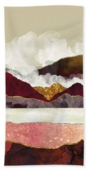 Melon Mountains Beach Towel
