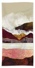 Melon Mountains Beach Towel by Katherine Smit