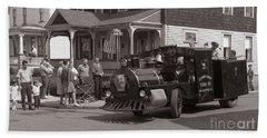 Memorial Day Parade  Ashley Pa  Corner Of W Hartford And Brown  Circa 1965 Beach Towel