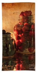 Memories Of Jams, Preserves And Jellies  Beach Sheet by Sherry Hallemeier