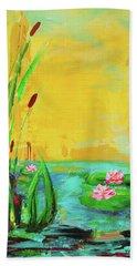 Memories Of The Lake Beach Towel