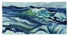 Memory Of The Ocean Beach Towel