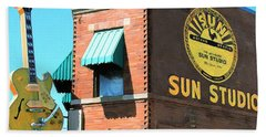 Memphis Sun Studio Birthplace Of Rock And Roll 20160215 Square Beach Towel
