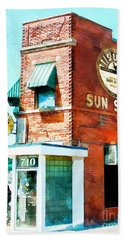 Memphis Sun Studio Birthplace Of Rock And Roll 20160215wcstyle Beach Towel