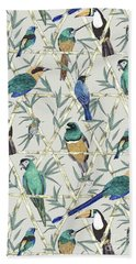 Menagerie Beach Sheet by Jacqueline Colley