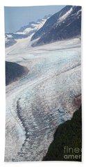 Mendenhal Glacier Beach Towel
