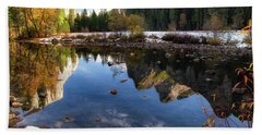Merced Reflections Beach Towel